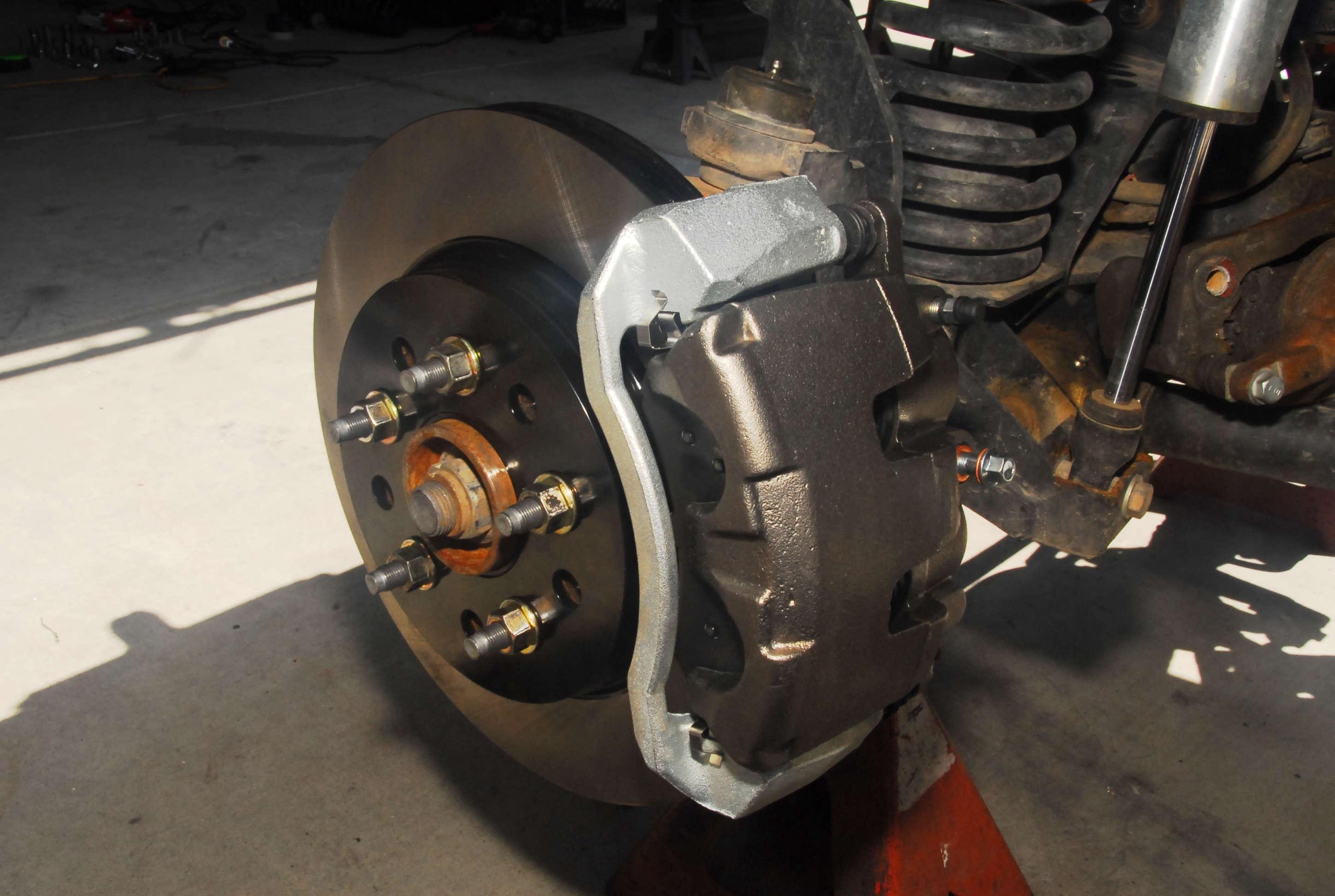 WJ Brake Setup on TJ or XJ w/JK wheel pattern - Page 2 ...