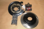 Premium Rear Disc Brake Kit w/BMBP 95-01 8.8 Ford Explorer Axle